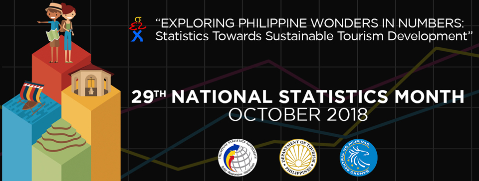 29th Philippine National Statistics Month October 2018